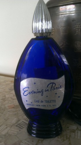 Evening in Paris bottle